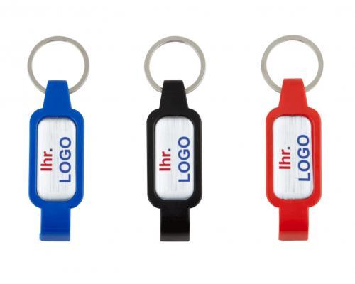 Schlüsselanhänger mit Kapselöffner